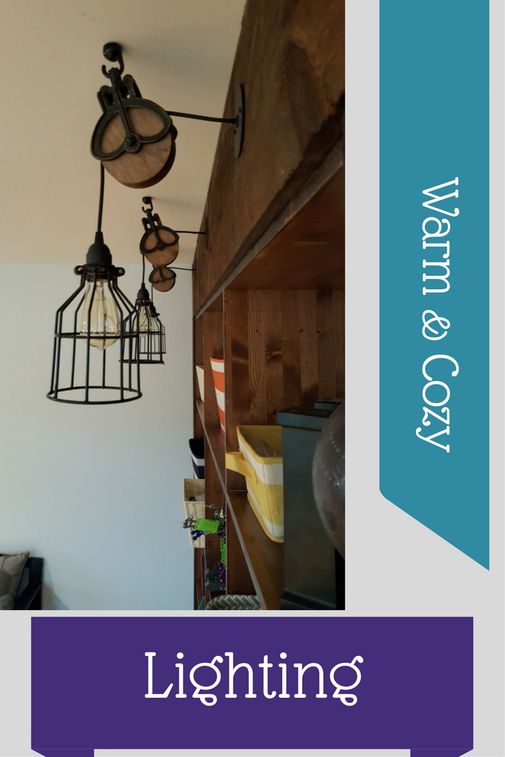 This warm and cozy lighting DIY project is fun and the outcome is great for any space in your home where you need soft light.