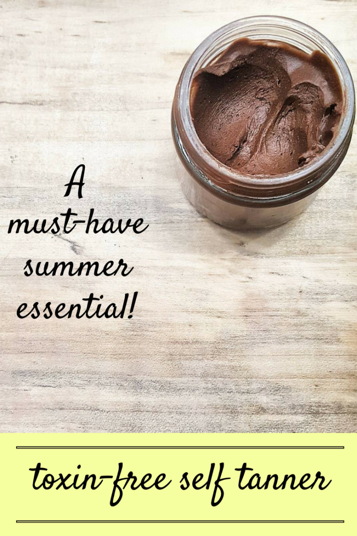 This is the safest toxin-free self tanner, it is simple to make, works well, and is buildable all while being infused with Young Living's essential oils.