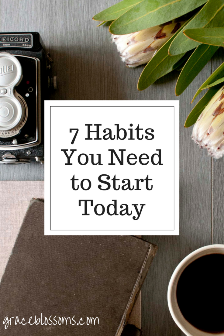 If you have ever been given God's amazing and beautiful grace, you'll appreciate these seven habits everyone should start today.