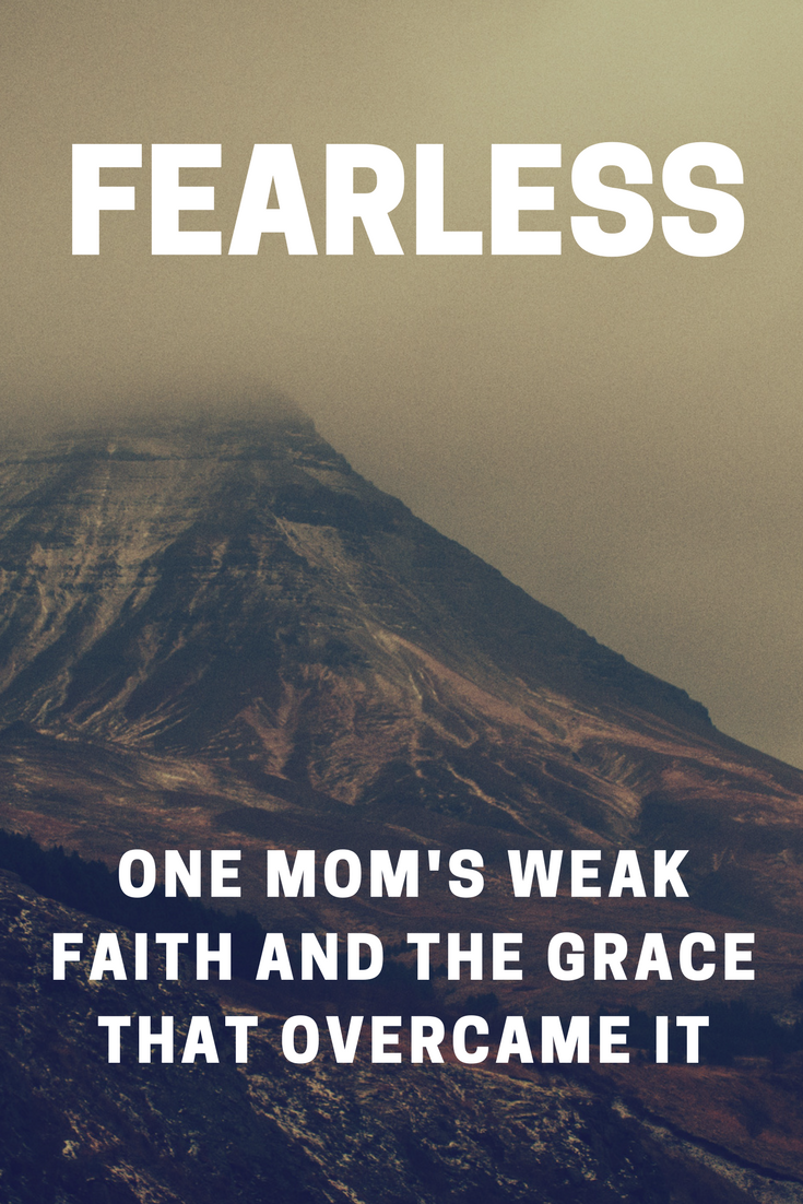 When your faith is weak what do you do? How do you shake it? How do you dig in and become fearless? Good news: you can't possibly do it alone.