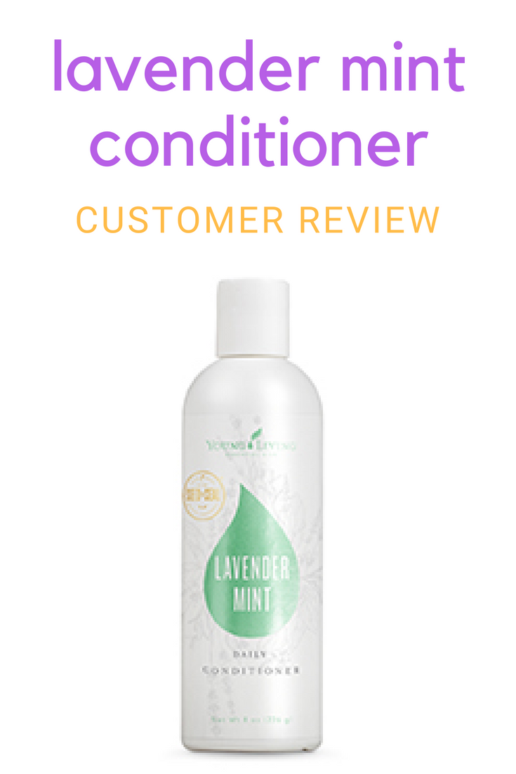 Lavender Mint Conditioner: A Customer's Review 1