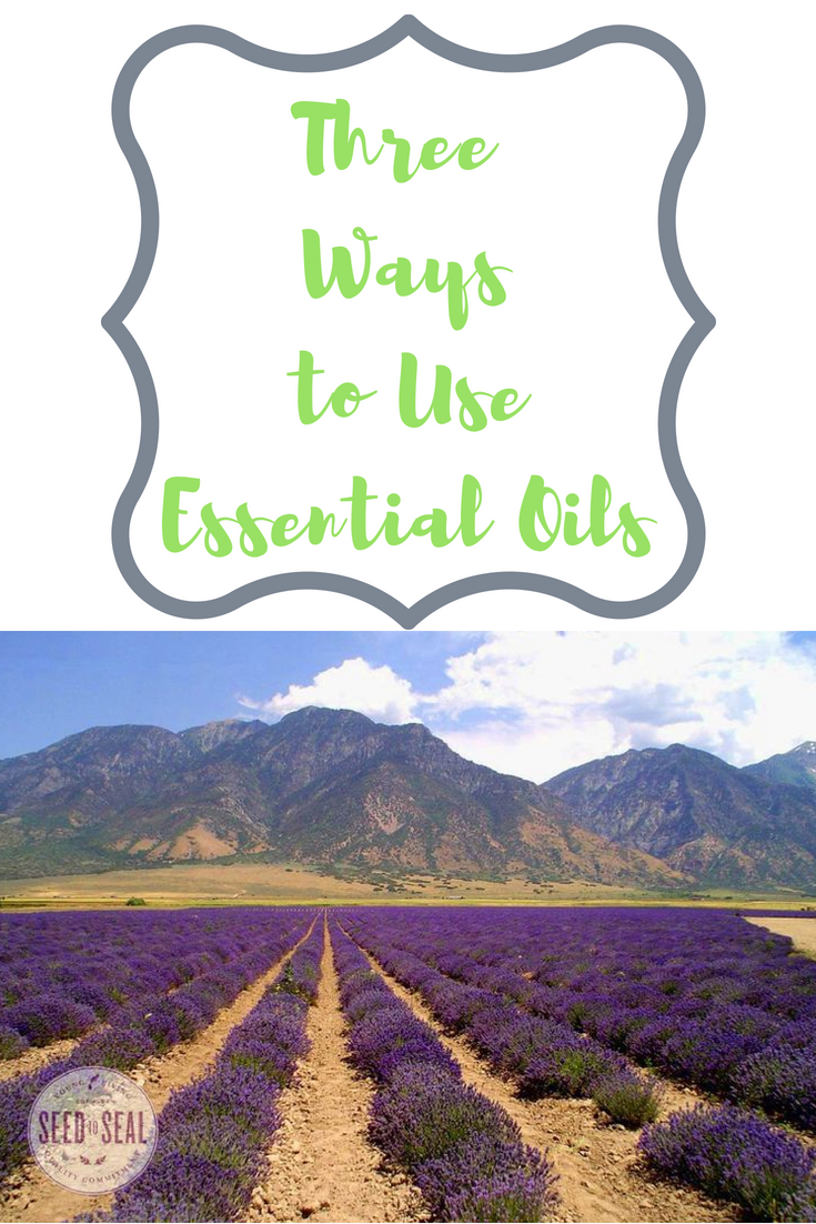 Three Ways to Use Essential Oils