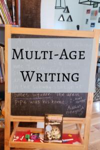 Mutli-age writing