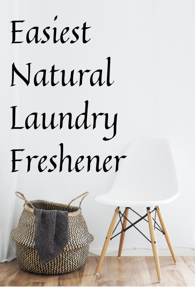 This super simple and healthy natural laundry freshener will be the best thing you'll do for your laundry and your family's health!