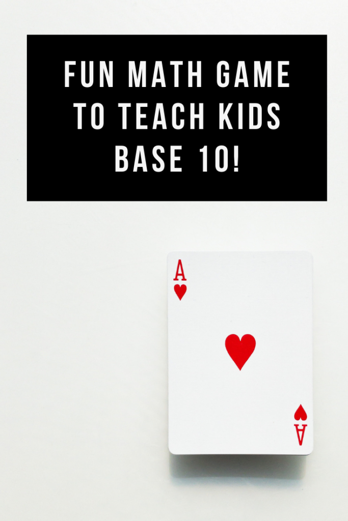 A math card game called Rubbish teaches your child base ten, numbers, and strategy with a bit of luck thrown in for lots of laughs.