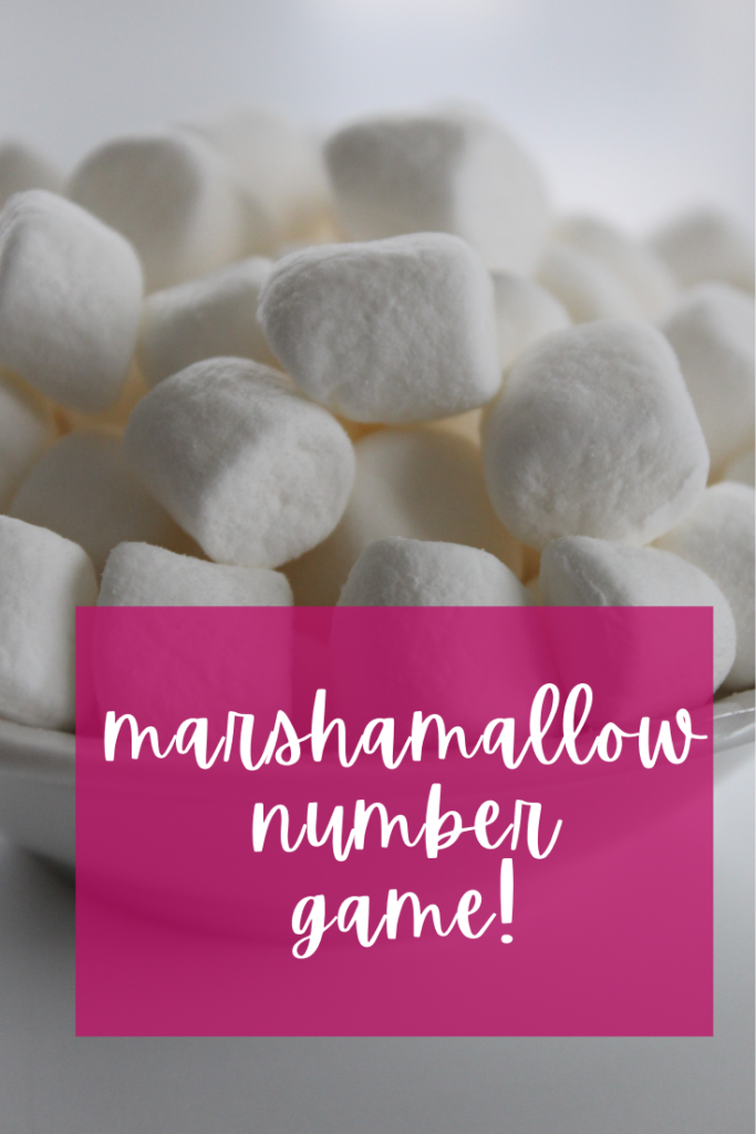 Teach your child with this super fun and easy numbers game featuring every kid's favorite: marshmallows! You'll both love it!