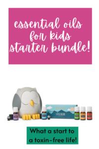 Essential Oils for Kids Starter Bundle