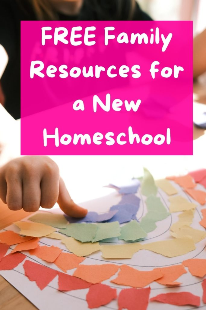 These free family resources for a new homeschool break down how to get the most out of these super flexible days!