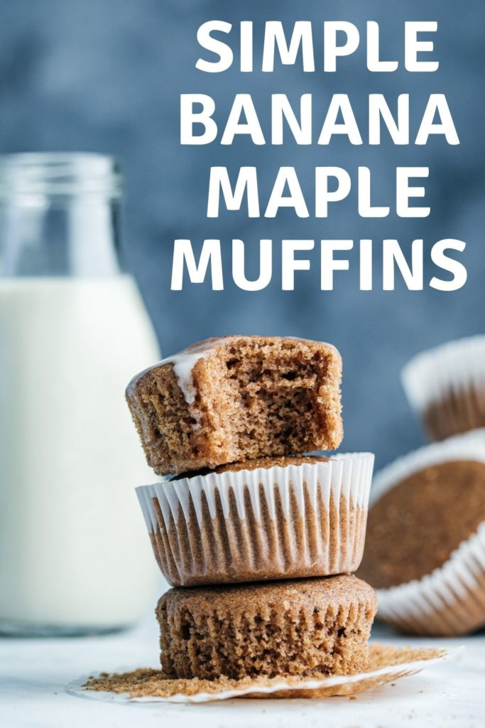 This banana maple muffin recipe is quick, simple, and filling all while using ingredients we always have on hand making this a go-to!